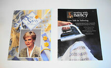 Sewing Books  Sewing With Nancy & Sew Savvy  2 Books