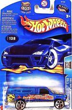 "Hot Wheels 138 Dodge Ram 1500, 2003 Work Crewsers 1/10 ""Howlin Hot Wolfman"" Mint"