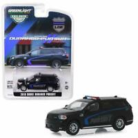 GREENLIGHT 30098 2019 DODGE DURANGO PURSUIT POLICE SUV BLACK DIECAST CAR 1:64