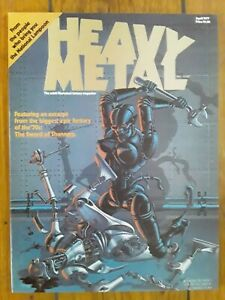 Heavy Metal Magazine Vol 1 #1 April 1977 VF UNREAD Vintage Adult SciFi Fantasy