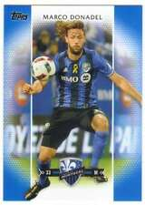 2017 Topps MLS Soccer Blue Parallel /99 #127 Marco Donadel Montreal Impact