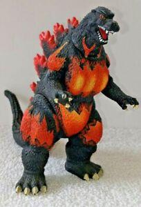Bandai 2002 Fire Burning Godzilla Figure Kaiju Toho Movie Monster Loose Heisei