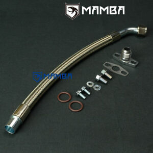 MAMBA VOLVO 940 SE 2.3T PTFE TD04H-13C turbo oil return drain hose line kit