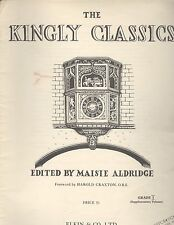 The Kingly Classics Grade I Supplement Piano Purcell Czerny Weber Galliard Krohn