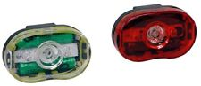 Halfords Superbright LED Light Set Head Rear Lamp Torch Bike Bicycle Cycling bat