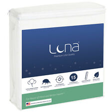Luna Cal King Size Waterproof Mattress Protector Made In USA