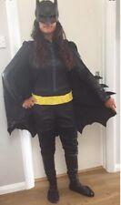Bad Man Badman pipistrello eroe eroi heroes COSTUME OVERALL maschera mantello mantella