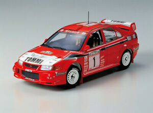 Tamiya 24220 1/24 Scale Model Car Kit Mitsubishi Lancer Evolution VI Evo 6 WRC
