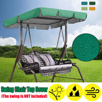 Replacement Canopy For Swing Seat 2 3 Seater Garden Hammock Sun Cover  /*/