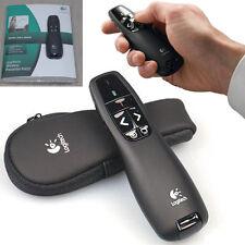 Red Logitech Wireless Presenter R400 Laserpointer Presenter Case Laser Roter