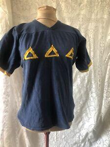 Polo Shirt Vintage Delta Delta Delta Tri Delta Blue Sorority Greek S Small