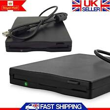 "Portable USB External Floppy Disk Drive 3.5""1.44MB FDD Enclosure Desktop Laptop"