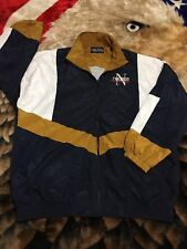 Rare VTG 90s Nautica Competition Colorblock Track Jacket L Big Logo Spell Out N1