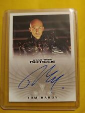 Star Trek Nemisis Movie Tom Hardy as Shinzon NA3 autograph card RARE AFTER July4