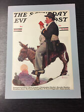 Original Saturday Evening Post cubierta por Norman Rockwell: 13th de Julio de 1929