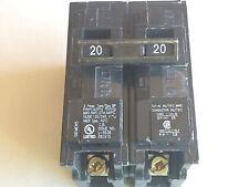 New, Siemens Q220, 20 Amp, 2-Pole, 120/240 Vac, Circuit Breaker, Type Qp