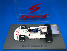 1/43 March Ford 761 #34 Hans Stuck US GP Long Beach 1976 SPARK S5369 NEUHEIT !