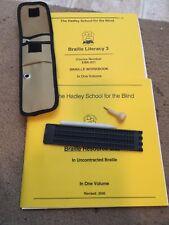 Braille Literacy Work Book Hadley School For The Blind