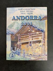 Coffret Euro Collection ANDORRA 2003