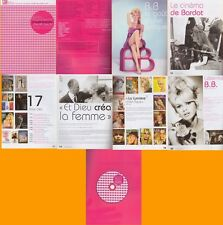 RARE Dossier de presse exposition Brigitte Bardot+ DVD...NEUF !