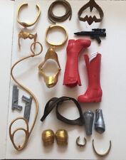 Lot Of Wonder Woman Accessories And Other Superhero's