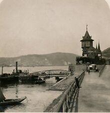 Allemagne c. 1900 - Stéréo RÜDESHELM Bord du Rhin - 24