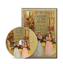 Orphans of the Storm (1921) Drama, History, Romance, Silent Film / Movie on DVD