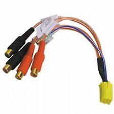 Autoleads PC3-11 Car Radio Yellow Mini ISO Amplifier RCA