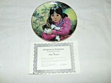 Anne Bridge Look What I Found Collectors Plate