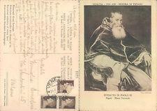VENEZIA - MOSTRA DI TIZIANO 1935 RITRATTO DI PAOLO III  -  (rif.fg.7799)