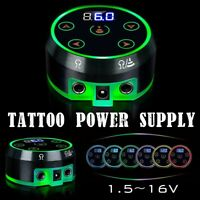 Tattoo Power Supply For Tattoo Machine Kits For AURORA 2 LCD Display 6 Gears
