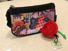 Girls - Small Sketchers Purse - with Rose Reusable Tote Bag Combo