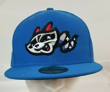 New Era Rocket City Trash Pandas Blue Game Authentic Collection 59FIFTY 7 1/4