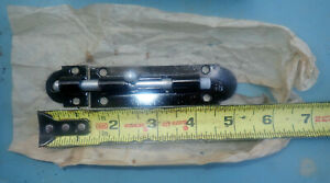 "vintage NOS Stanley 4 1/4"" Barrel Bolt Slide Latch Security Door Rustic"