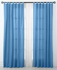 "$50 Beacon Looms Gaga Brights Slate 54"" x 84"" Tab-Top Window Panel Curtain"