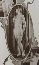 Vintage Corset Girdle Garters Advertising Sales Brochure Charis Los Angeles 1924