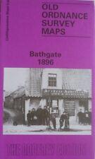 OLD ORDNANCE SURVEY MAP BATHGATE LINLITHGOWSHIRE SCOTLAND 1896 SHEET 9.06  NEW