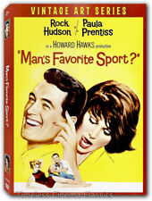Man's Favorite Sport DVD New Rock Hudson Vintage Art Series Slipcase Cover
