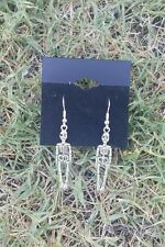 LAST ONE Halloween Skeleton horror charm earrings