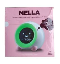 Mella Ready to Rise Children's Sleep Trainer Alarm Clock Night Light Sounds Pink