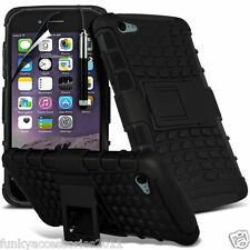 Shockproof Heavy Duty Protection Hard Dual Layer Phone Case+Kick Stand✔Apple