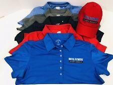 (Lot Of 6)Pcs. Of Women's Hotel Fitness Golf Apparel 1 Hat, 5 Medium Polo Shirts