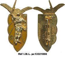 9° R.C.P, métal doré, fond doré translucide foncé, Boussemart 1366 (G120)