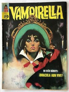 VAMPIRELLA N° 29 HORROR ARGENTINA EDITORIAL MAZZONE 1973