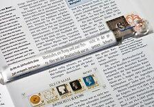Lupenlineal Leselineal mit 2,5 facher Vergrößerung ideal zum Katalog lesen Lu27_