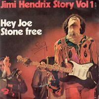 "JIMI HENDRIX ~ Hey Joe ~ Original 1970 French 2-track 7"" vinyl single in p/slve"