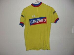 CINZANO Bicycle Jersey Vintage wool size L