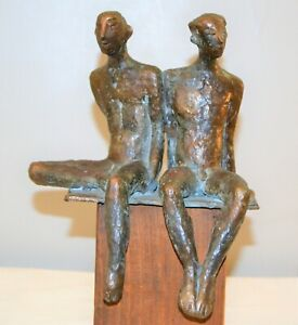 Signed Gail Cassilly (Soliwoda) Saltwater St.Louis City Museum Bronze Sculpture