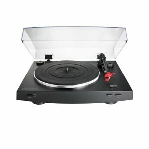 Audio-Technica AT-LP3 BK Black Fully Automatic Turntable + AT91R