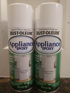 2( Two) of RUST- OLEUM APPliance Epoxy each Is 12 oz